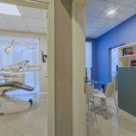 studio dentistico a prato ingresso e sala